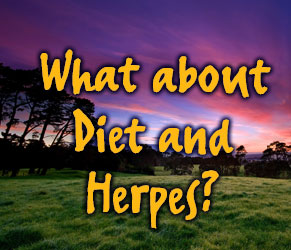 What about diet and Genital Herpes? Does my health effect herpes?